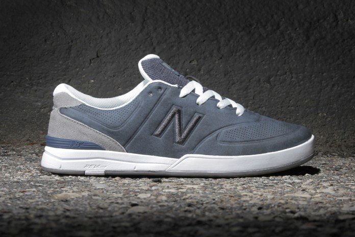 New Balance Numeric Logan 637 Bering Blue/Micro Grey