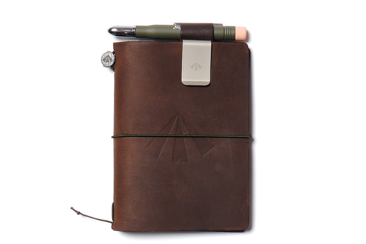 nigel cabourn x midori army edition travelers notebook