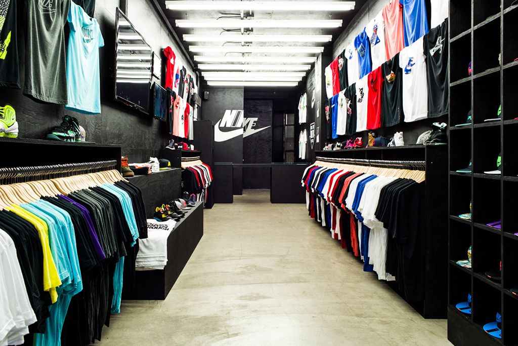 Nike 340 Canal Street Pop-Up Shop Opening
