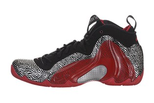 "Nike Air Flightposite 1 Exposed ""Zebra"""