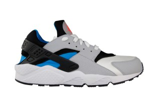 Nike Air Huarache White/Wolf Grey-Blue Hero