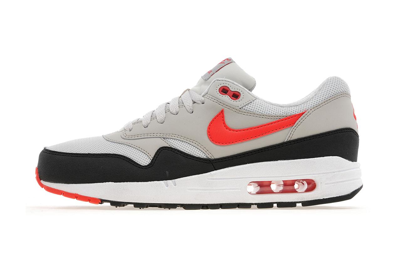 Nike Air Max 1 Light Bone/Black-Cherry Red JD Sports Exclusive