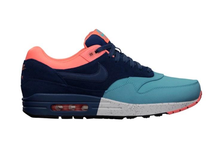 Nike Air Max 1 PRM Gamma Blue/Brave Blue/Atomic Pink
