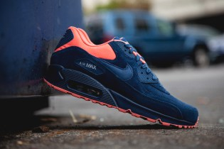 Nike Air Max 90 PRM Brave Blue/Atomic Pink
