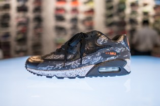 "Nike Air Max 90 atmos Exclusive ""Black Tiger Camo"""