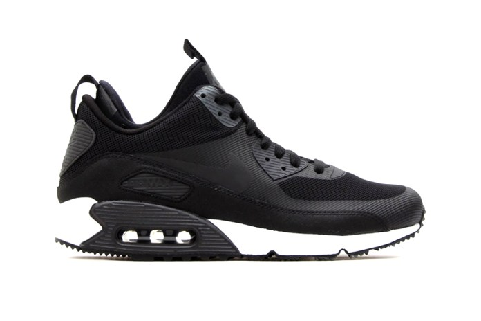 Nike Air Max 90 Sneakerboot Black/Dark Charcoal-White