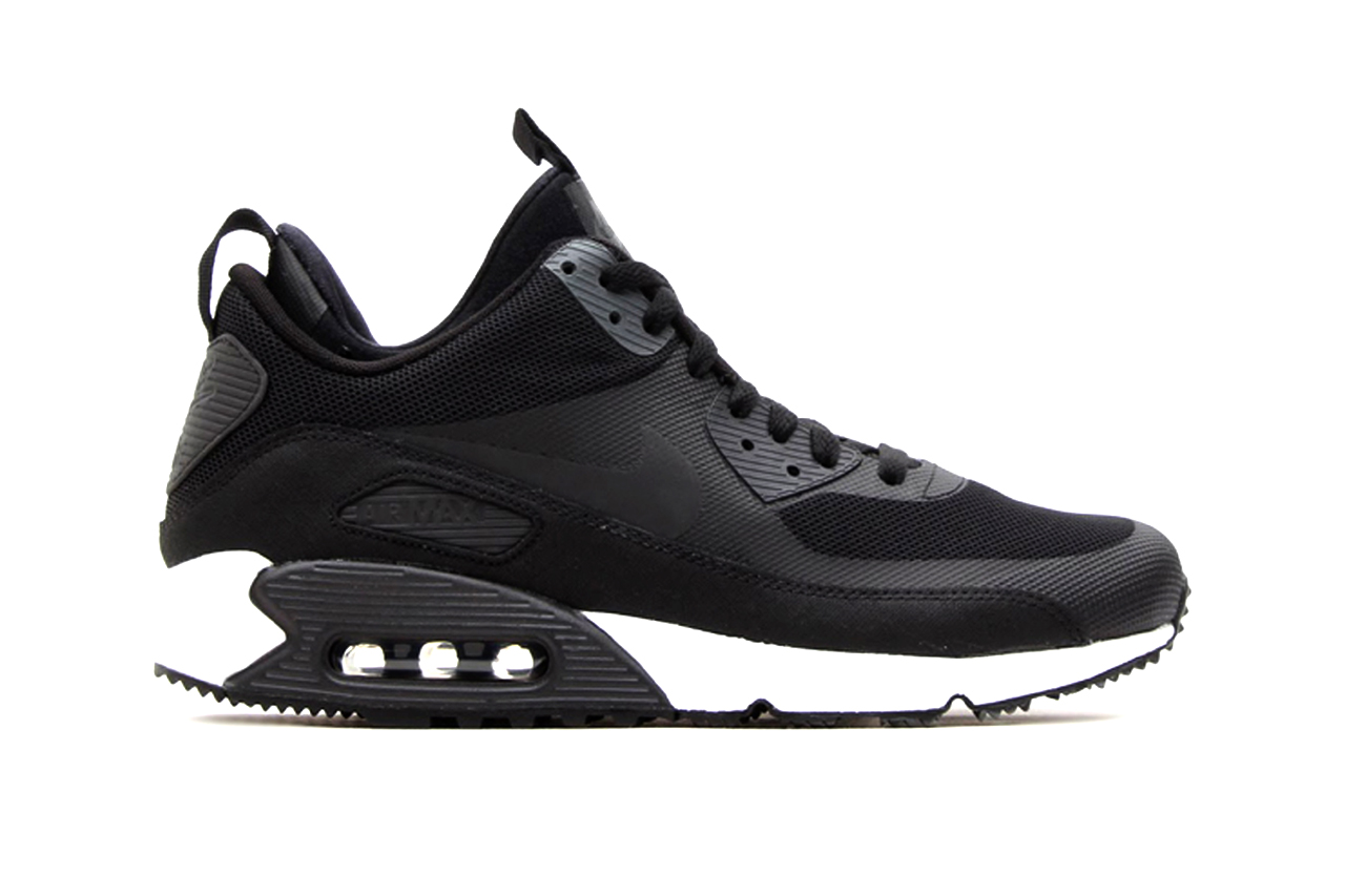 Nike Air Max 90 Sneakerboot Black/Dark Charcoal-White