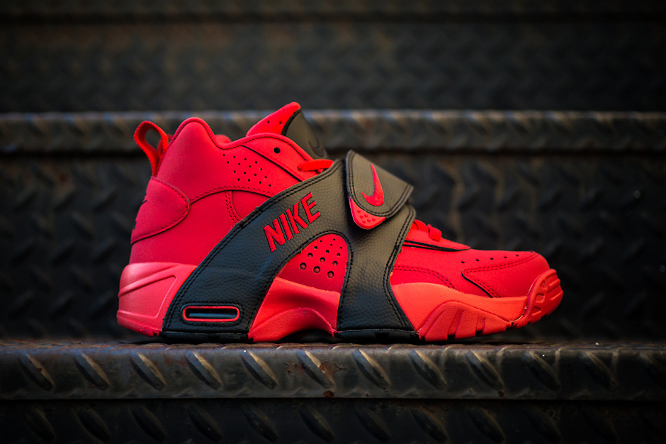 nike air veer university redblack