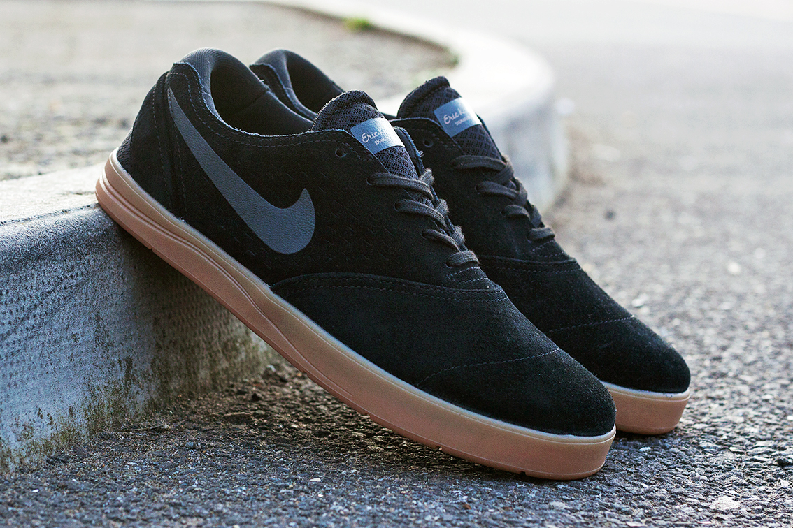nike sb eric koston 2 black anthracite gum medium brown