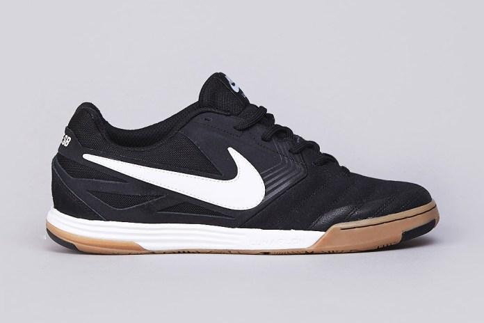 Nike SB Lunar Gato Black/White-Gum Medium Brown