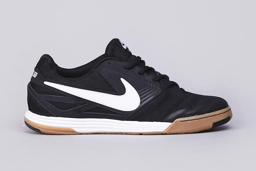 Nike SB Lunar Gato Black/White-Gum Medium Brown