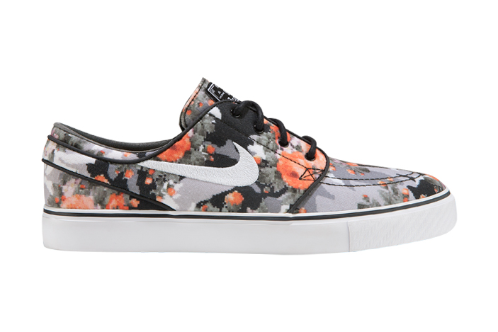 Nike SB Zoom Stefan Janoski Multi-Color/Black-Mandarin