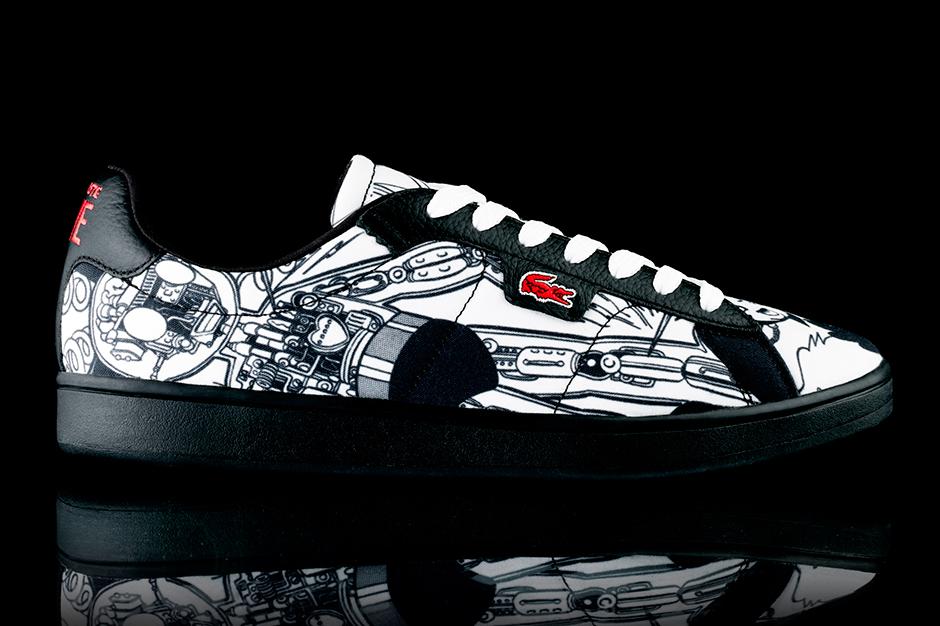 osamu tezuka x lacoste lve footwear collection
