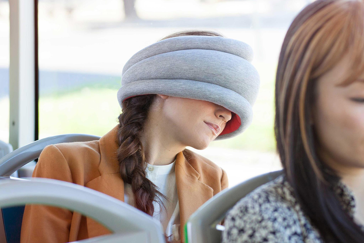 Ostrich Pillow Light – Portable Power Napping Pillow For People On The Go