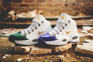 """Packer Shoes x Reebok Question """"For Players Use Only"""" Pack"""