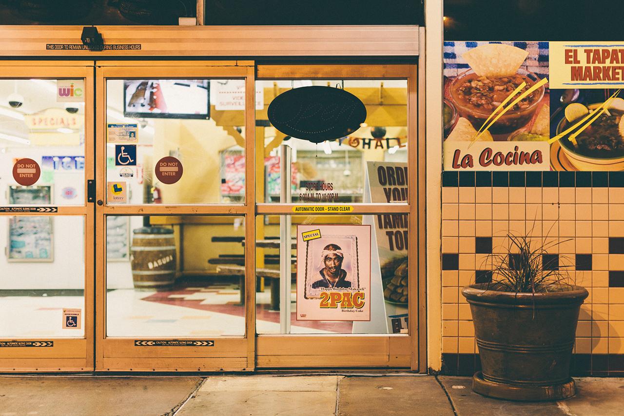 patrick martinez invades a supermarket for his break bread installation