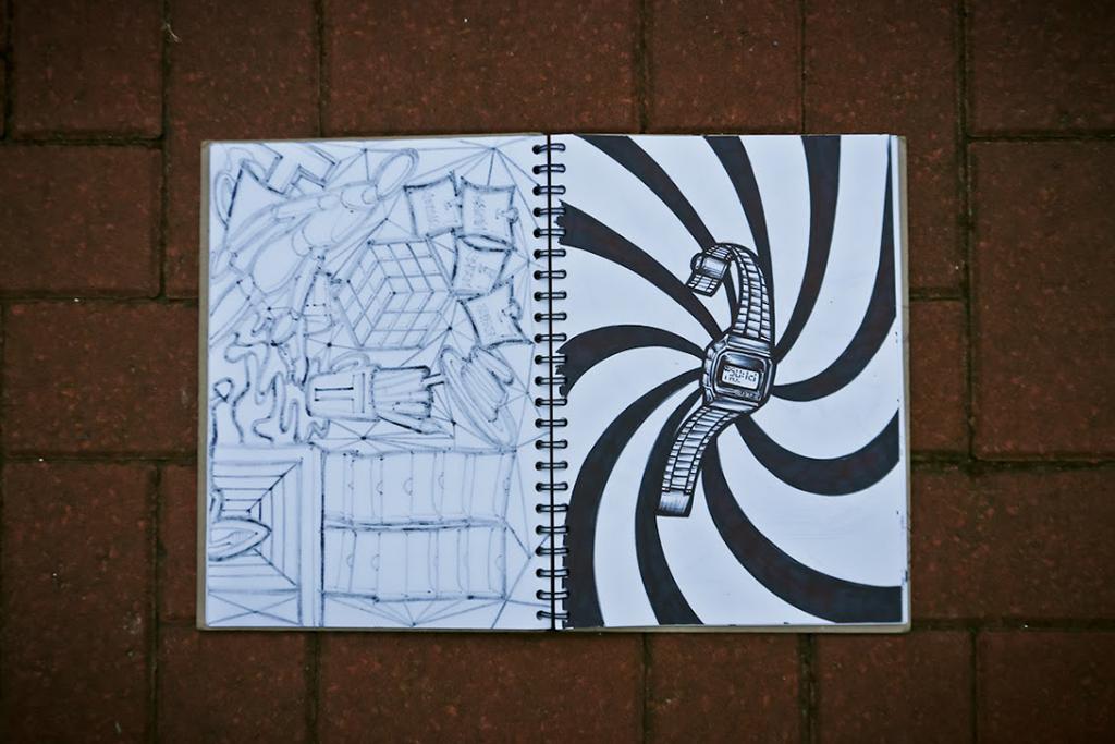 pen paper pins