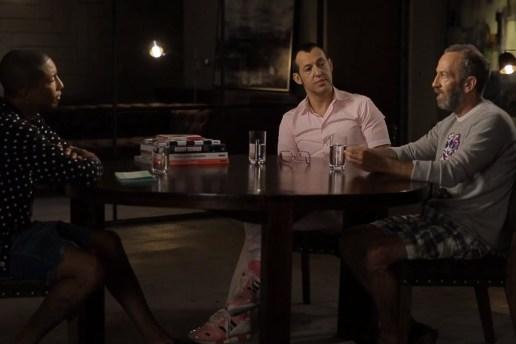 Pharrell Interviews Karim Rashid & Kenny Scharf for ARTST TLK