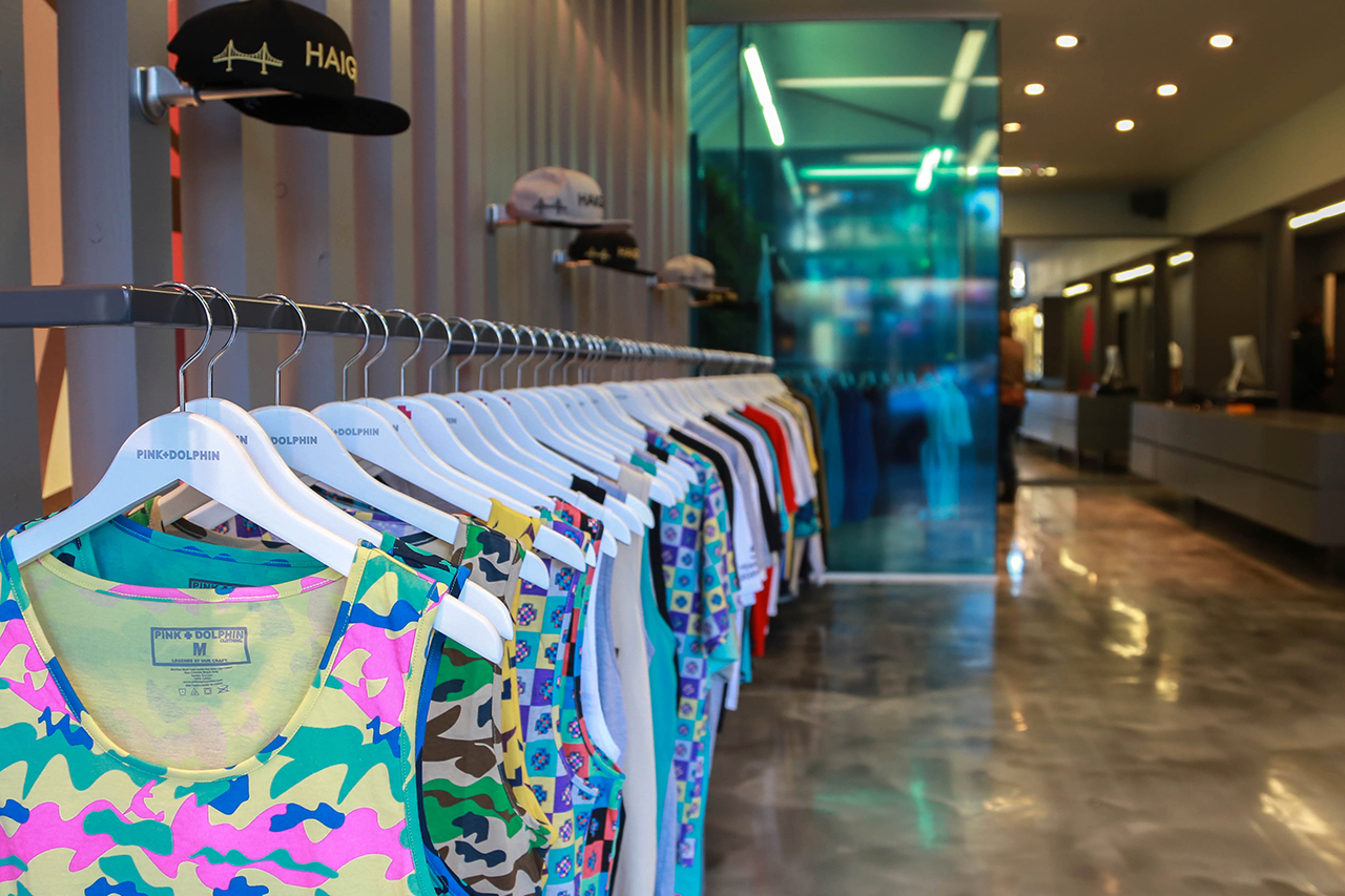 pink dolphin san francisco opening