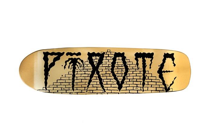 Pixote x Fool's Gold x SHUT NYC Skateboard Collaboration