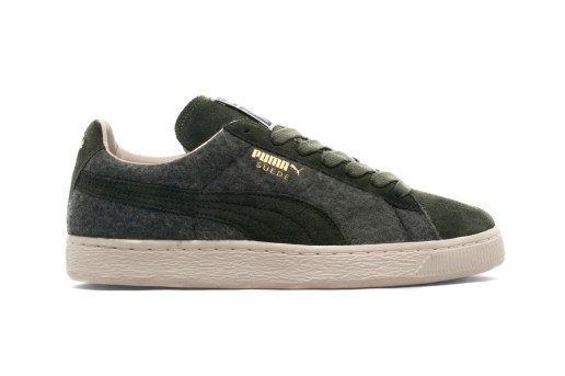 PUMA 2013 Holiday Suede Wool Forest