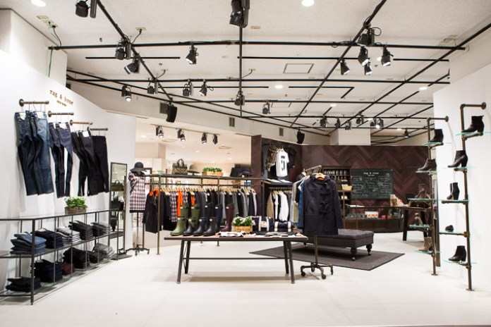 Rag & Bone Pop-Up Store at ISETAN Shinjuku