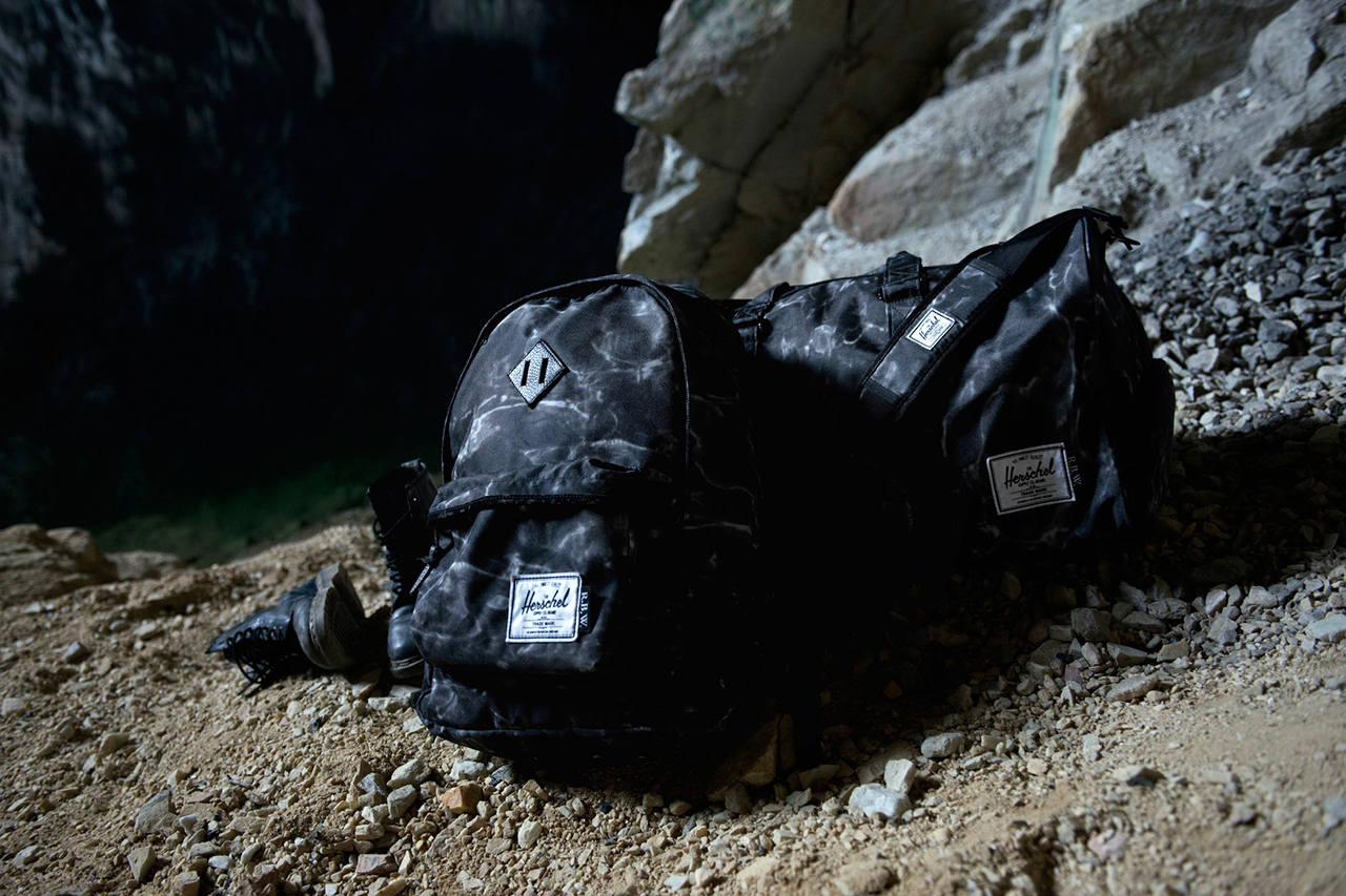 raised by wolves x herschel supply co 2013 fallwinter black water camo collection
