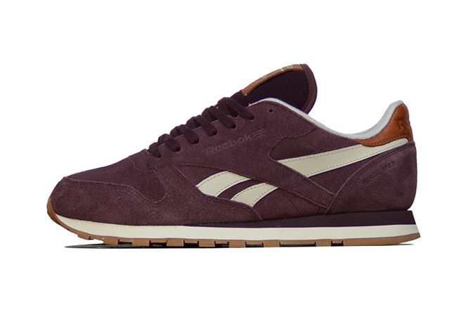 Reebok Classic Leather Suede Henna/Paperwhite/RBK Brass