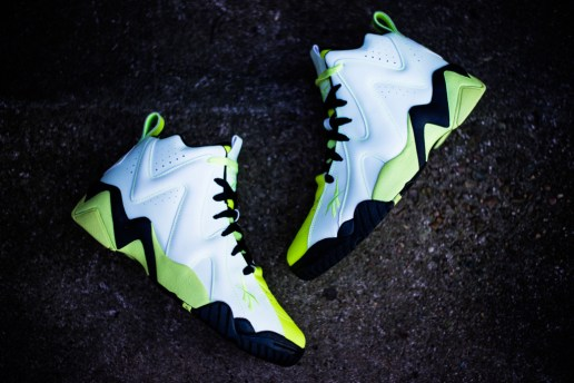 Reebok Kamikaze II Mid - Glow In the Dark