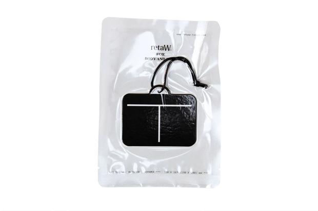 head porter x retaw fragrance luggage tag