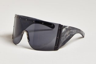 Rick Owens 2013 Fall/Winter Raw Horn Arm Sunglasses