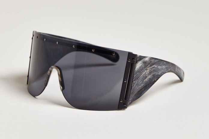 Rick Owens 2013 Fall/Winter Raw Horn Arm Sunglasses