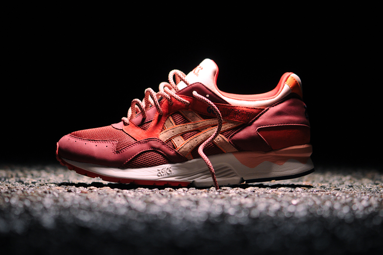 asics gel lyte v rose gold end
