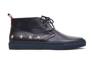 Shayan Afshar x Del Toro 10k Yellow Gold Stars Alto Chukka Sneaker