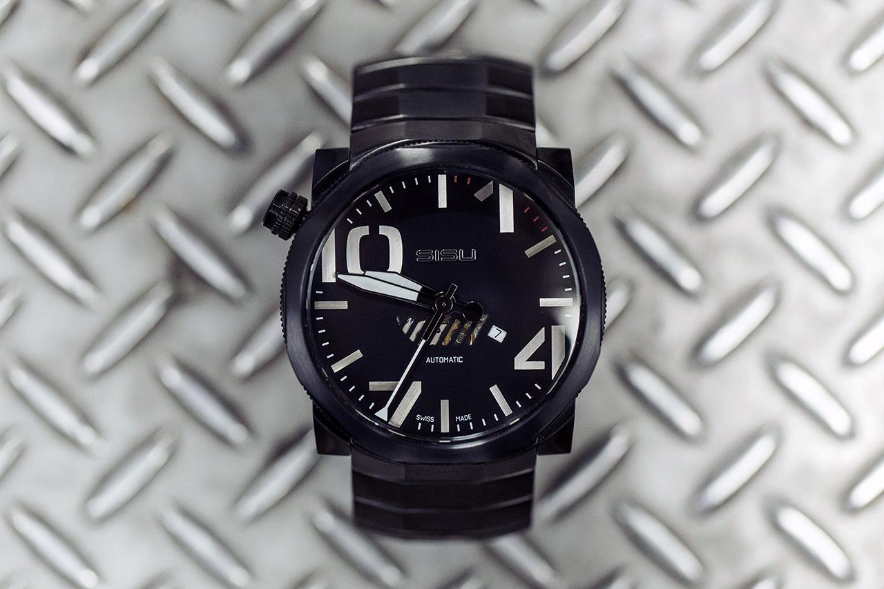 SISU Bravado A5 Stealth Swiss Automatic Limited Edition Watch