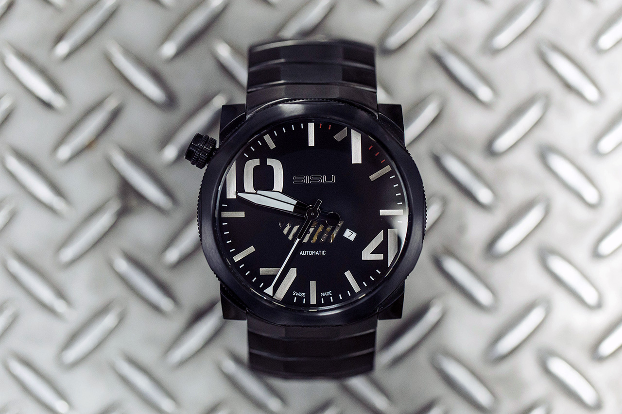 sisu bravado a5 stealth swiss automatic limited edition watch