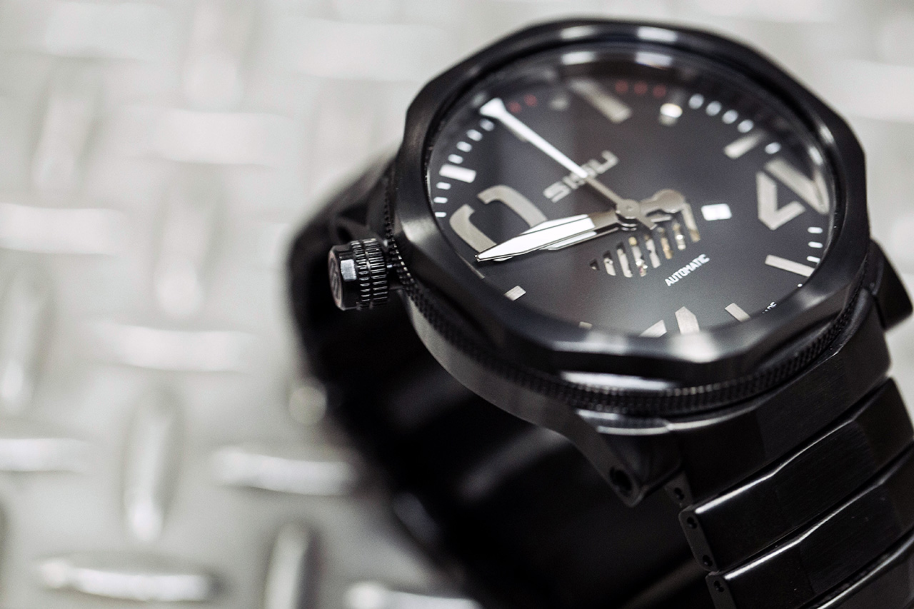 Sisu Bravado A5 Stealth Swiss Automatic Limited Edition