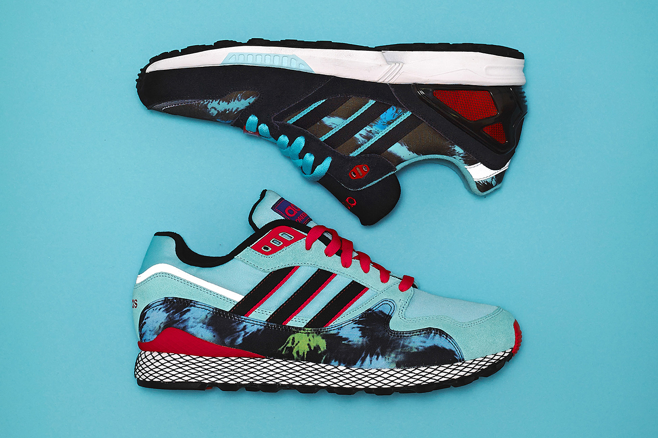 """size? x adidas Originals Select Collection """"Tie Dye"""""""