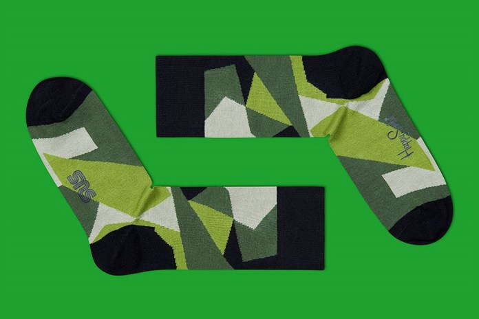 Sneakersnstuff x Happy Socks M90 Camo Socks
