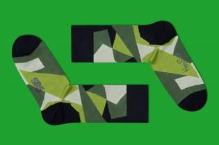 Sneakersnstuff x Happy Socks M90 Camo Socks