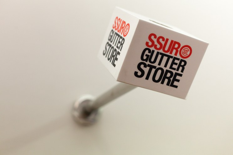 SSUR and CLOT Present GUTTER STORE Shanghai
