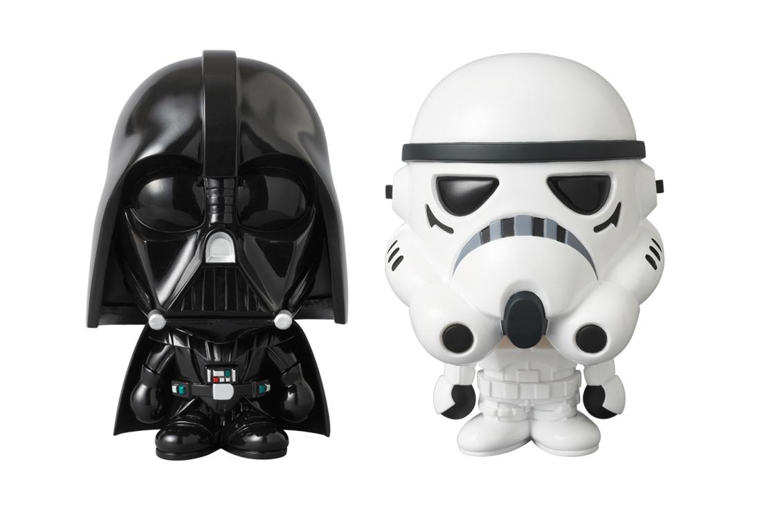 Star Wars x A Bathing Ape x Medicom Toy STORMTROOPER & DARTH VADER