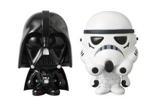 Star Wars x A Bathing Ape x Medicom Toy STORMTROOPER & DARTH VADER