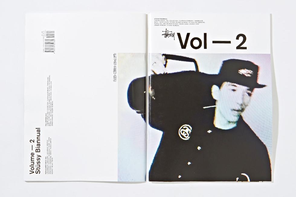 stussy 2013 fallwinter biannual magazine vol 2