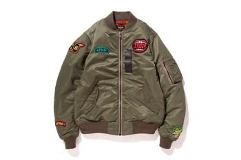 Stussy x Schott 2013 Fall/Winter Aviator Jacket
