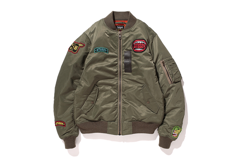 stussy x schott 2013 fallwinter aviator jacket