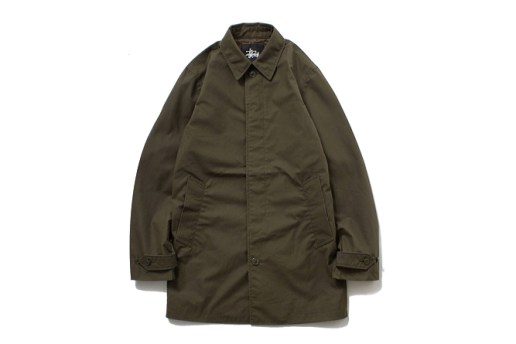 Stussy x The British Millerain Co. 2013 Fall/Winter Waxed Soutien Coller Coat