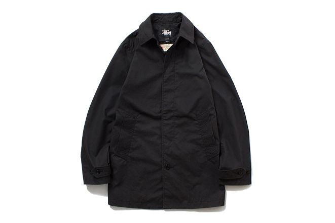 stussy x the british millerain co 2013 fallwinter waxed soutien coller coat