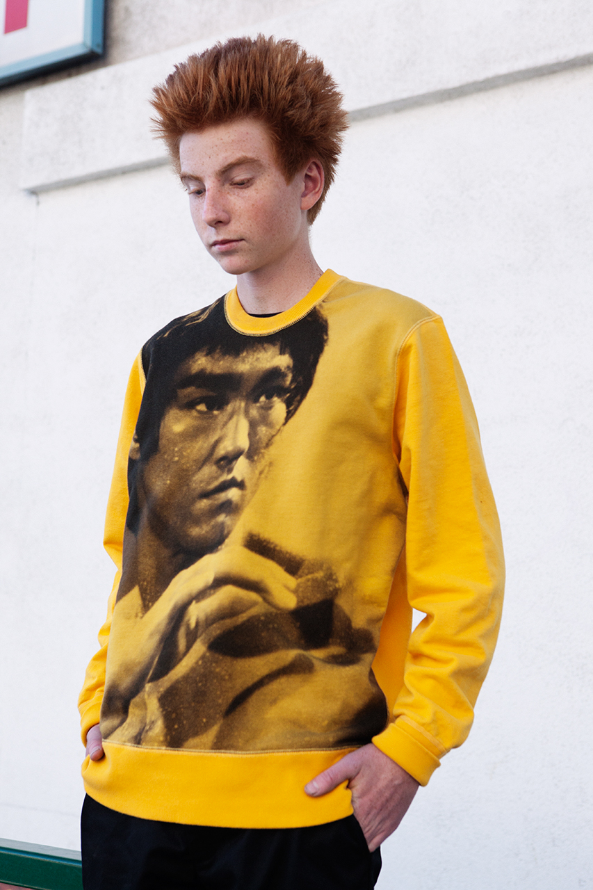 supreme 2013 fallwinter bruce lee lookbook