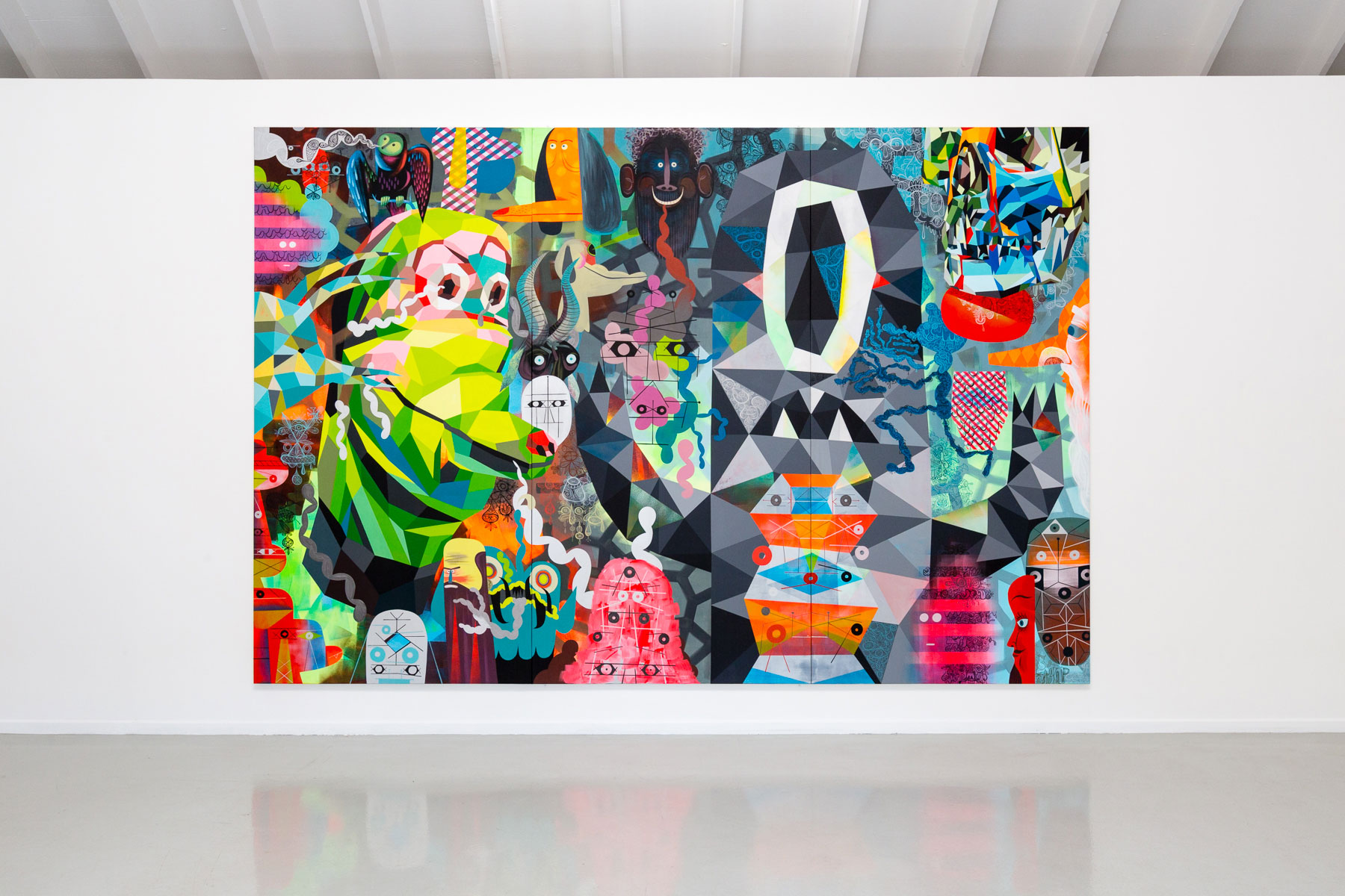 "Tim Biskup ""Charge"" @ Martha Otero Gallery"
